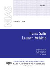 Iran Safir Launch Vehicle
