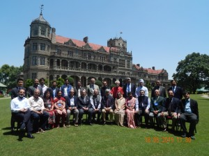 Group Photo of Conference Speakers at IIAS, Shimla