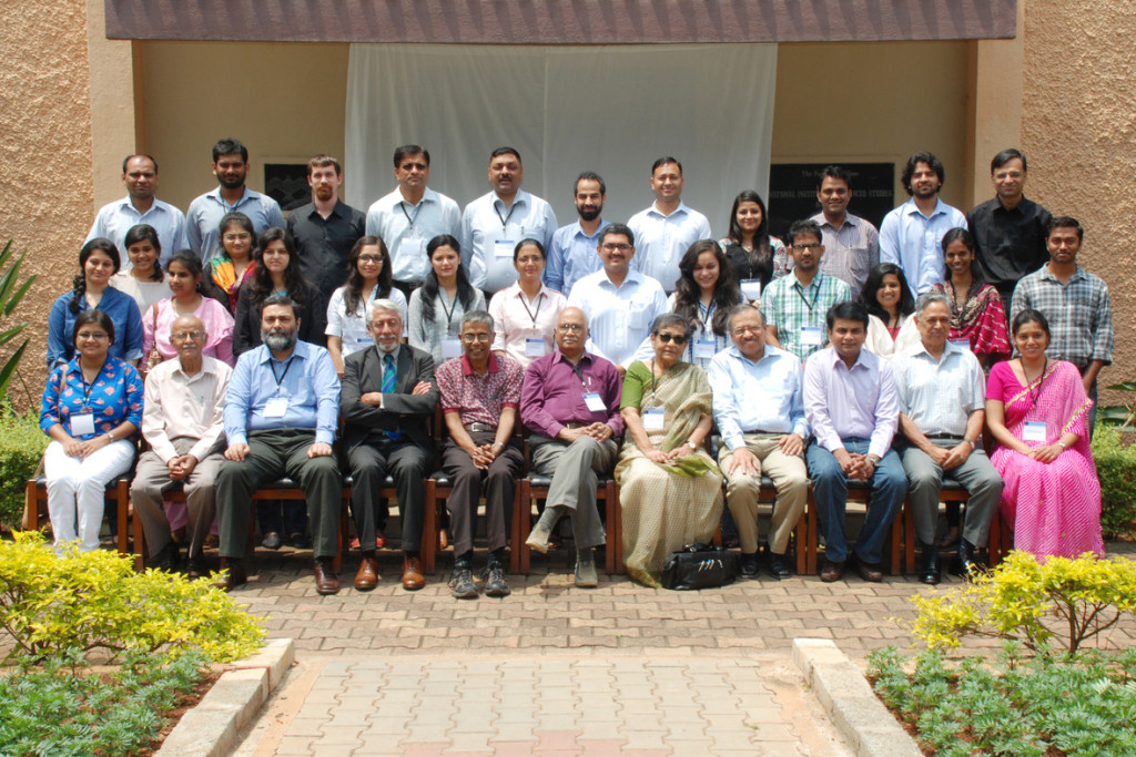 Group Photo of Speakers and Participants at NIAS-IPCS Young Scholars Workshop (May 4-7, 2015)