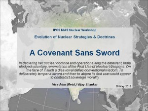 Vijay Shankar - Evolution of Nuclear Strategy and Doctrine