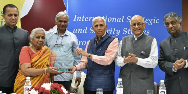 ISSSP received Professor ML Sondhi Prize For International Politics
