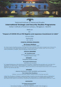 Impact of COVID-19 on FDI Regime and Japanese Investment in India